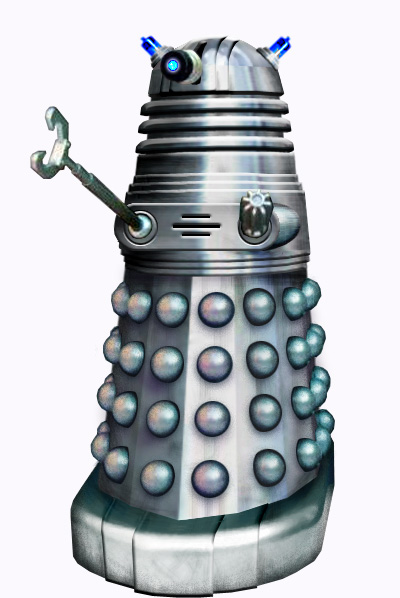 Art Deco Dalek Photoshop