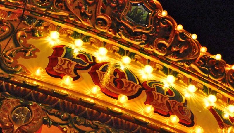 Victorian carousel Signage