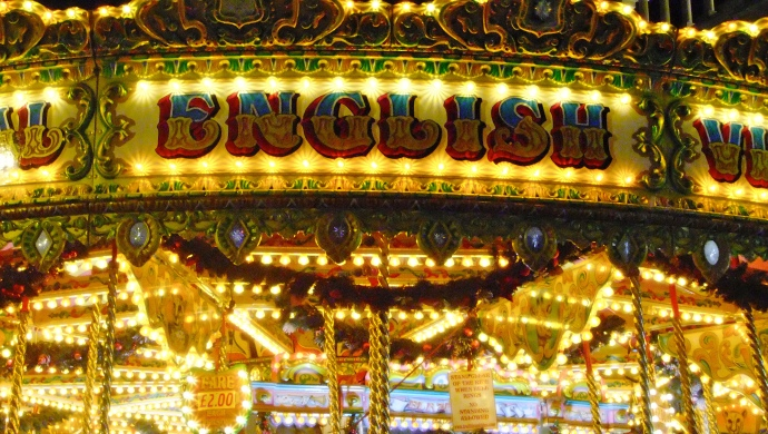 Victorian Carousel Signage