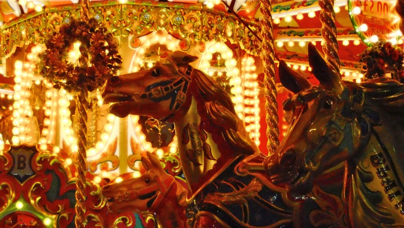 Victorian carousel Horse