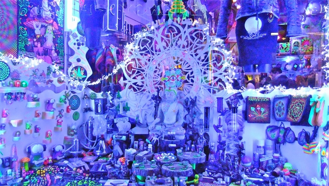 Ultra Violet Window Display Amsterdam