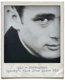 James Dean Polaroid