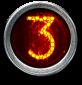 neon number 3