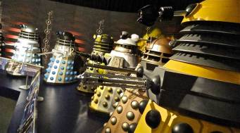 Doctor Who Daleks through the ages