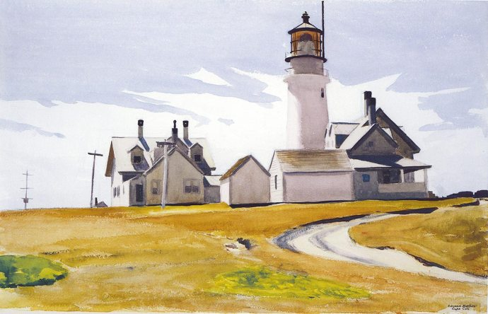 Edward-Hopper-Highland-Lighthouse