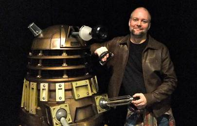Mark and the Dalek