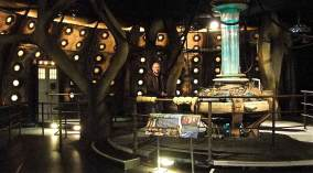 Mark on the Tardis Set
