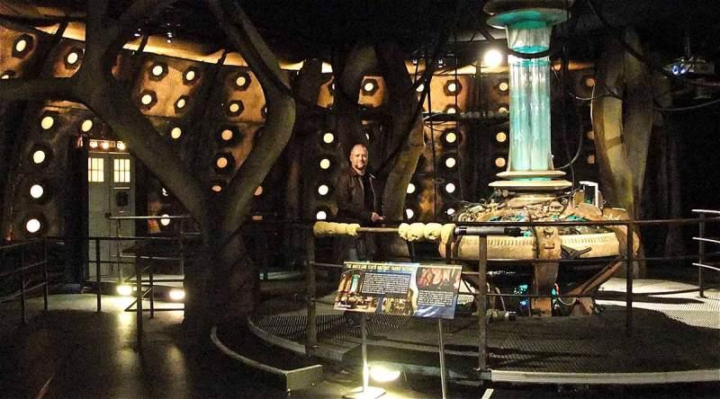 Doctor Who Tardis Set