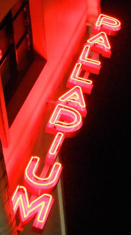 Palladium Theatre neon Sign London West End