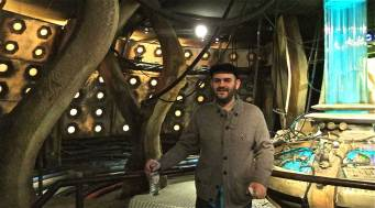 Panos in the Tardis