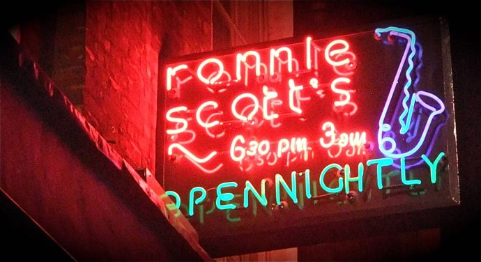 Ronnie Scott's London Neon Sign