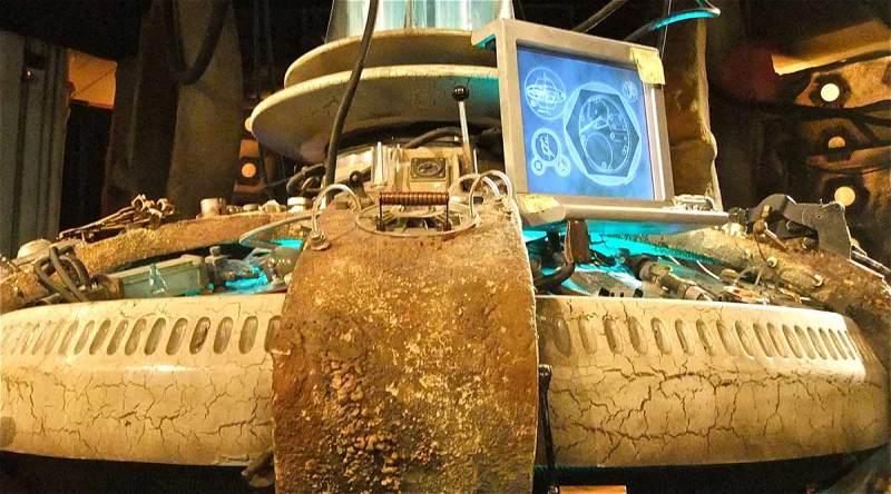 Doctor Who Tardis console closeup