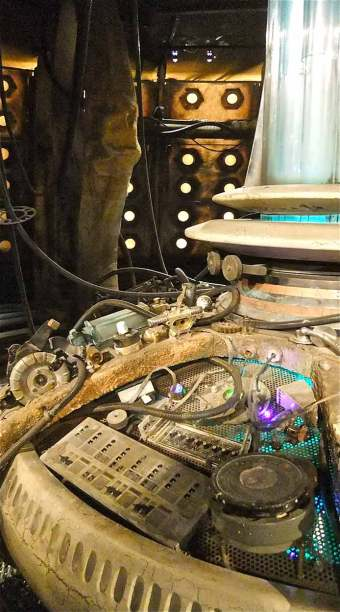 Tardis Console side view