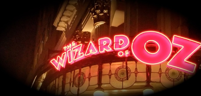 Wizard of Oz London West End Neon Sign