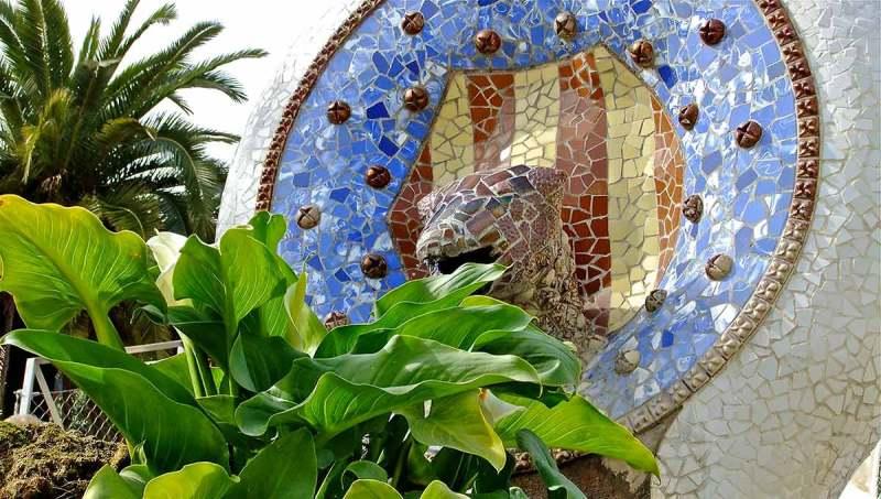 Gaudi Fountain Park Guell
