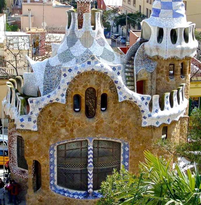 Gaudi's House Park Guell Spain