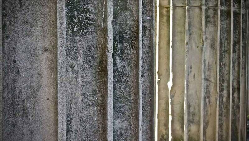 Stone columns Heaton Park Manchester