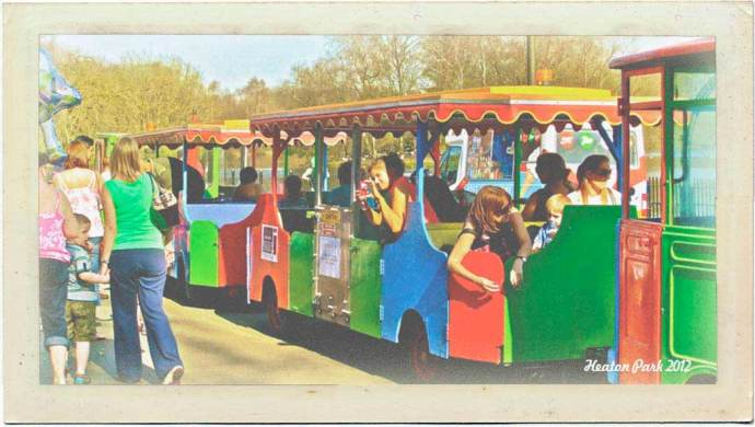Heaton Park Train