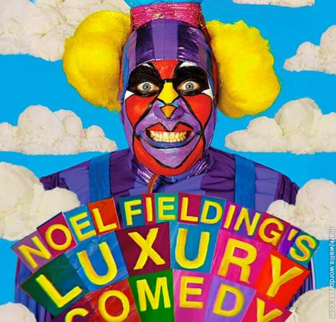 Noel Fielding's Luxury Comedy character The Audience