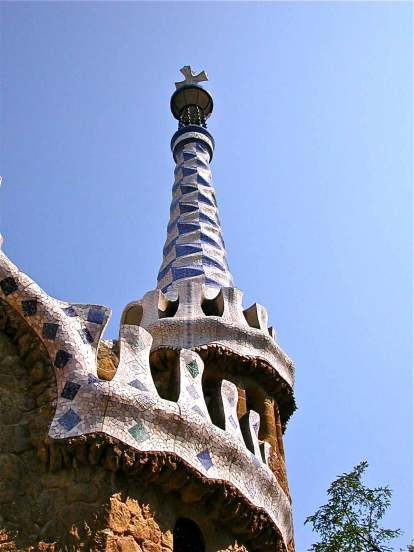 Gaudi Turret Park Guell
