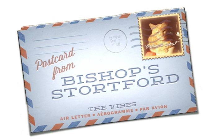 Airmail letter bishop's stortford