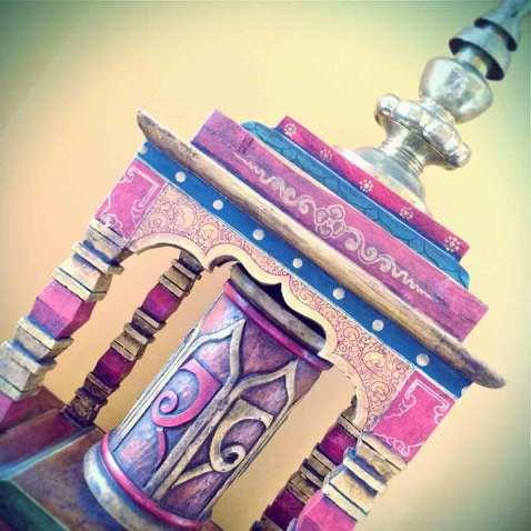 Instagram Buddhist prayer wheel