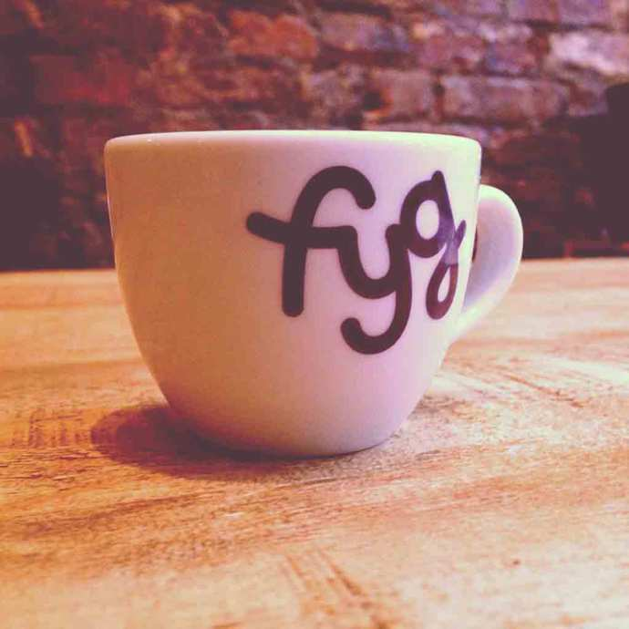 Instagram Fyg cafe coffe cup manchester