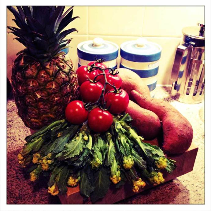 Instagram kitchen vegetables