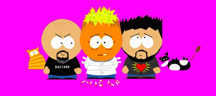 Southpark caricatures