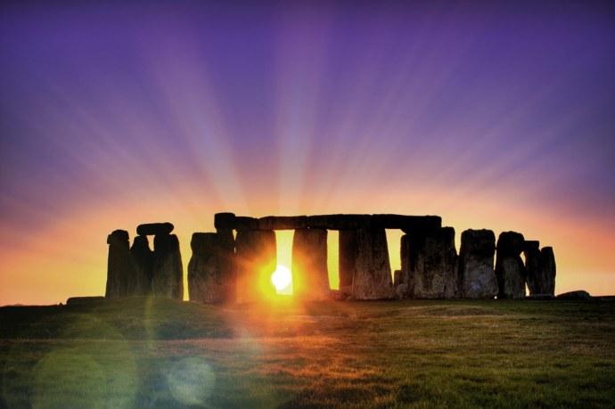 Spring time at stonehenge