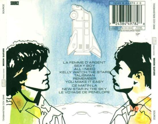 air moon safari back cover art