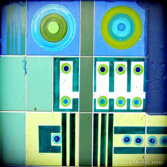 Brixton market robot tiles