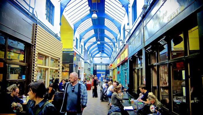 Brixton Village arcade