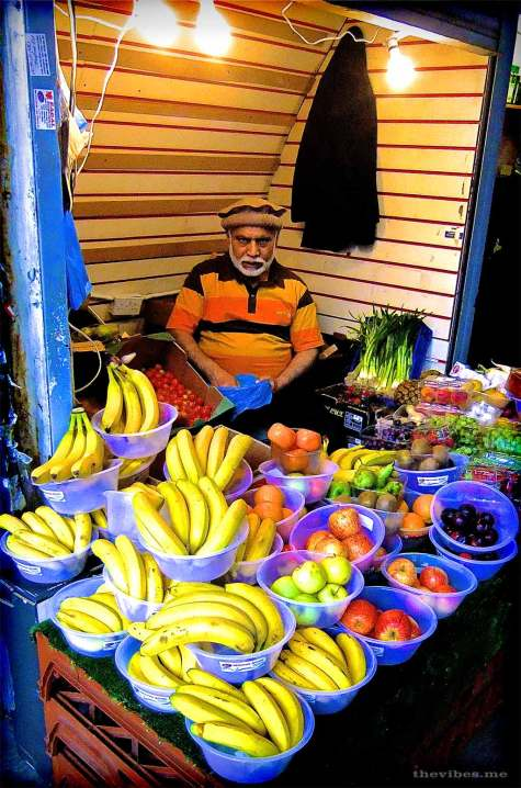 Fruit stall brixton market