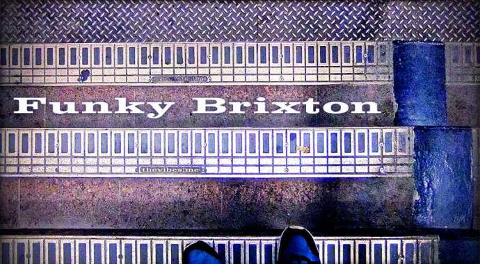 Tube station Steps brixton london
