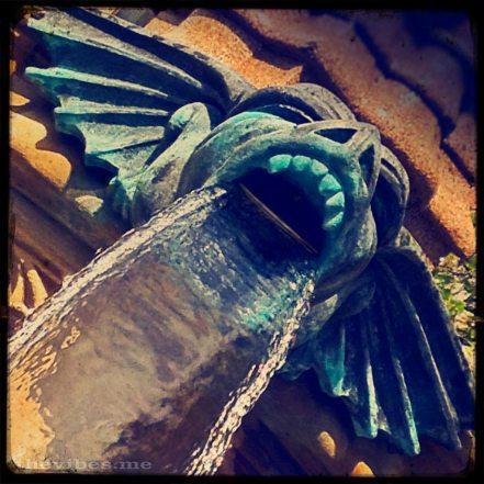 Gargoyle Albert Square Manchester