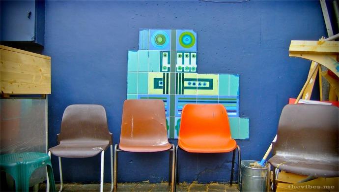 Robot Tiles Brixton