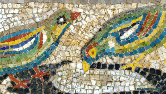ancient greek mosaic greece mount olympus museum the vibes