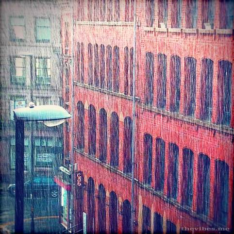 torrential rain turner street manchester