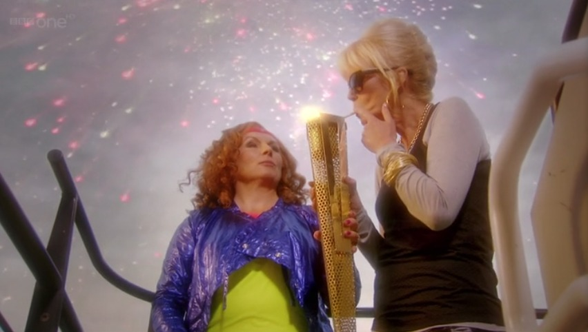 Are the Olympics Absolutely Fabulous? (3/3)