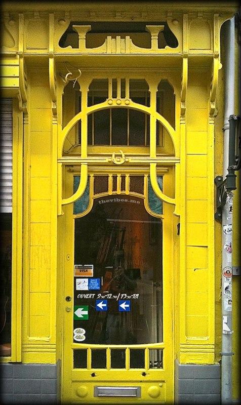 Art Nouveau Door Brussels