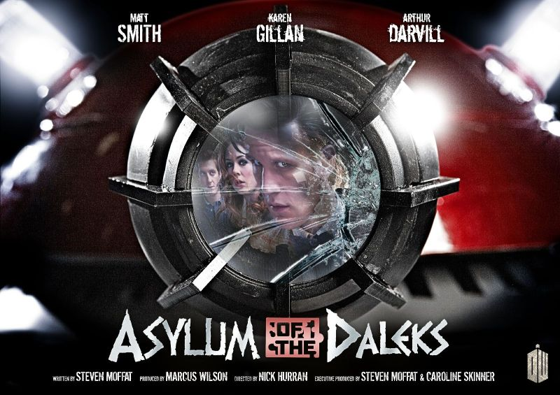 Asylum of the Daleks Poster The Vibes