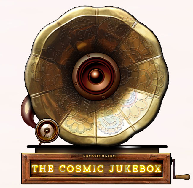 The Vibes Cosmic Jukebox Gramophone Mark Wallis