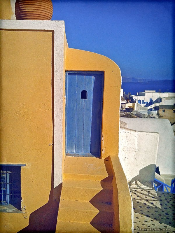 Door Oia Santorini Greece