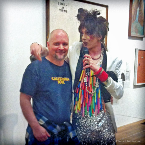 Mark Wallis and David Hoyle at The Tate