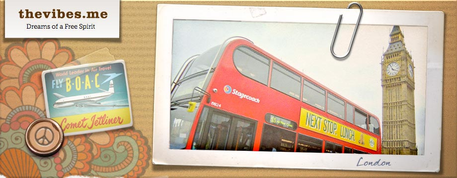 The Vibes header London Bus Mark Wallis