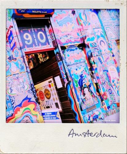 Polaroid Amsterdam Coffee shop