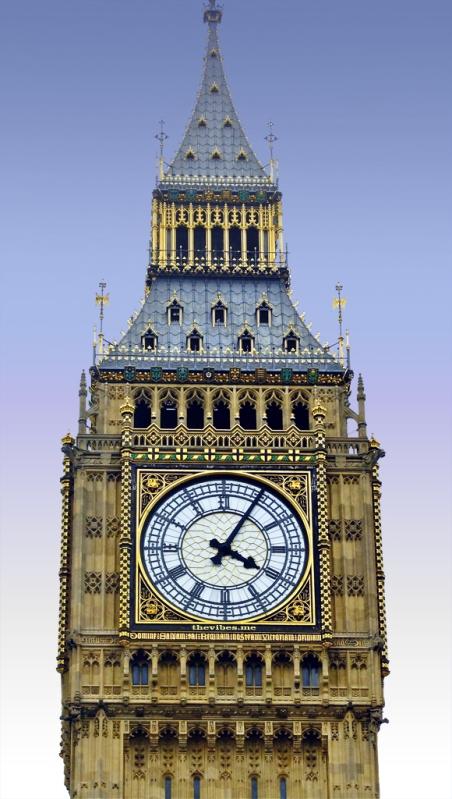 Big Ben London Clock Tower The Vibes