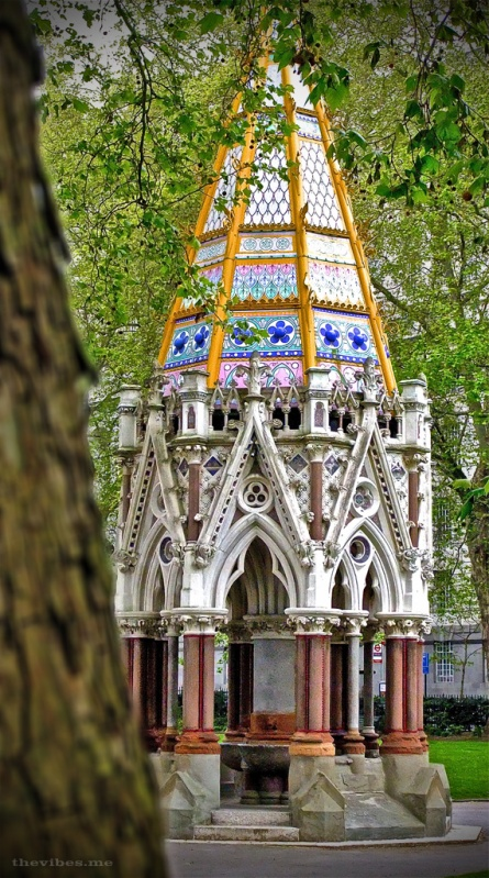 Buxton Memorial Fountain victoria Tower Gardens London The Vibes