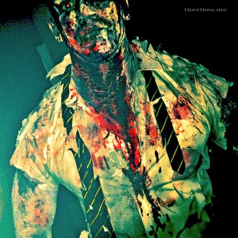 Muscular Halloween Zombie Manchester